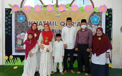 Bahagia Khatmil Qur'an Bersama Keluarga